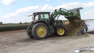 John Deere 6170R Tractor and H380 Loader