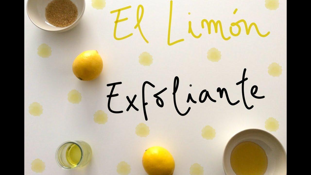 exfoliante para la cara casero azucar y limon