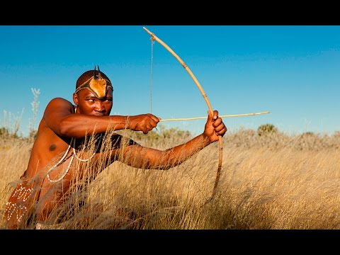 Kalahari Tribe Top 5 Hunters VS Leopard Documentary