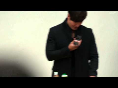 121213 KAIST Lecture - Kim Jong Kook calling Song Ji Hyo - Eng - Subbed