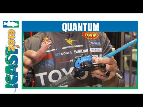 Quantum Accurist Rods & Reels With Gerald Swindle | ICast 2019