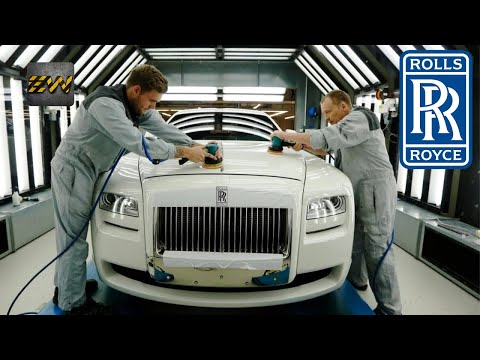 How LUXURY Rolls-Royce Cars Are Made ? (Mega Factories Video)