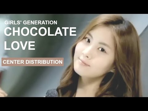 Girls' Generation - Chocolate Love - Center Distribution