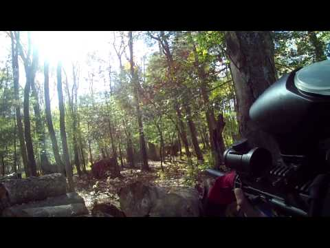 Quickshot paintball 10/21/12 ASSAULT!