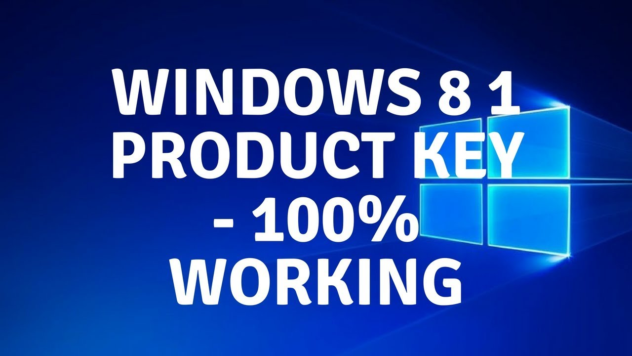 windows 8.1 pro 64 bit product key 2018