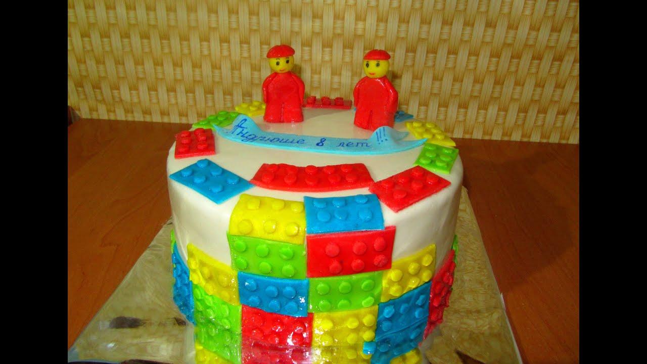 Лего как сделать торты