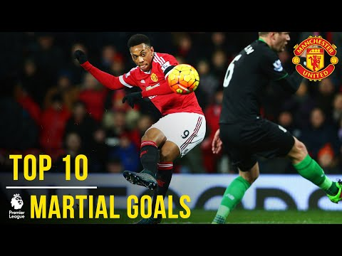 Anthony Martial's Top 10 Premier League Goals | Manchester United