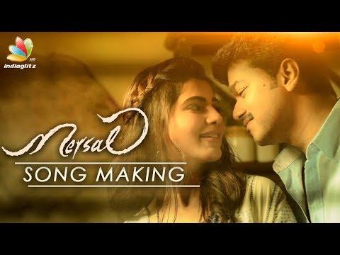 Mersal Song Making : Interesting to watch AR Rahman recording : Sathya Prakash Interview | Vijay