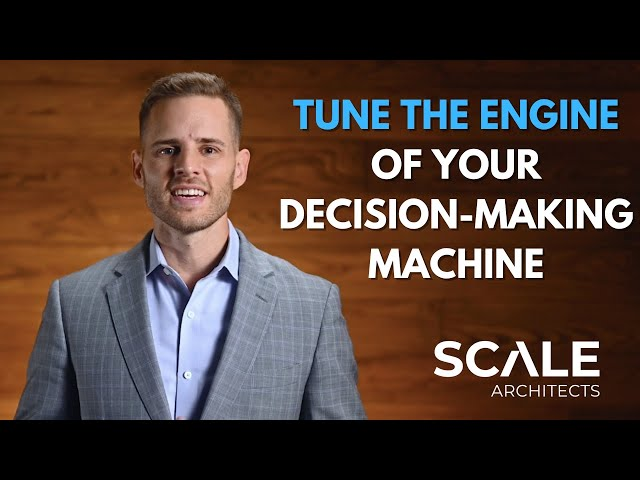 How to tune the engine of your decision making machine
