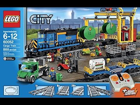 Lego 60052 Cargo Train Youtube