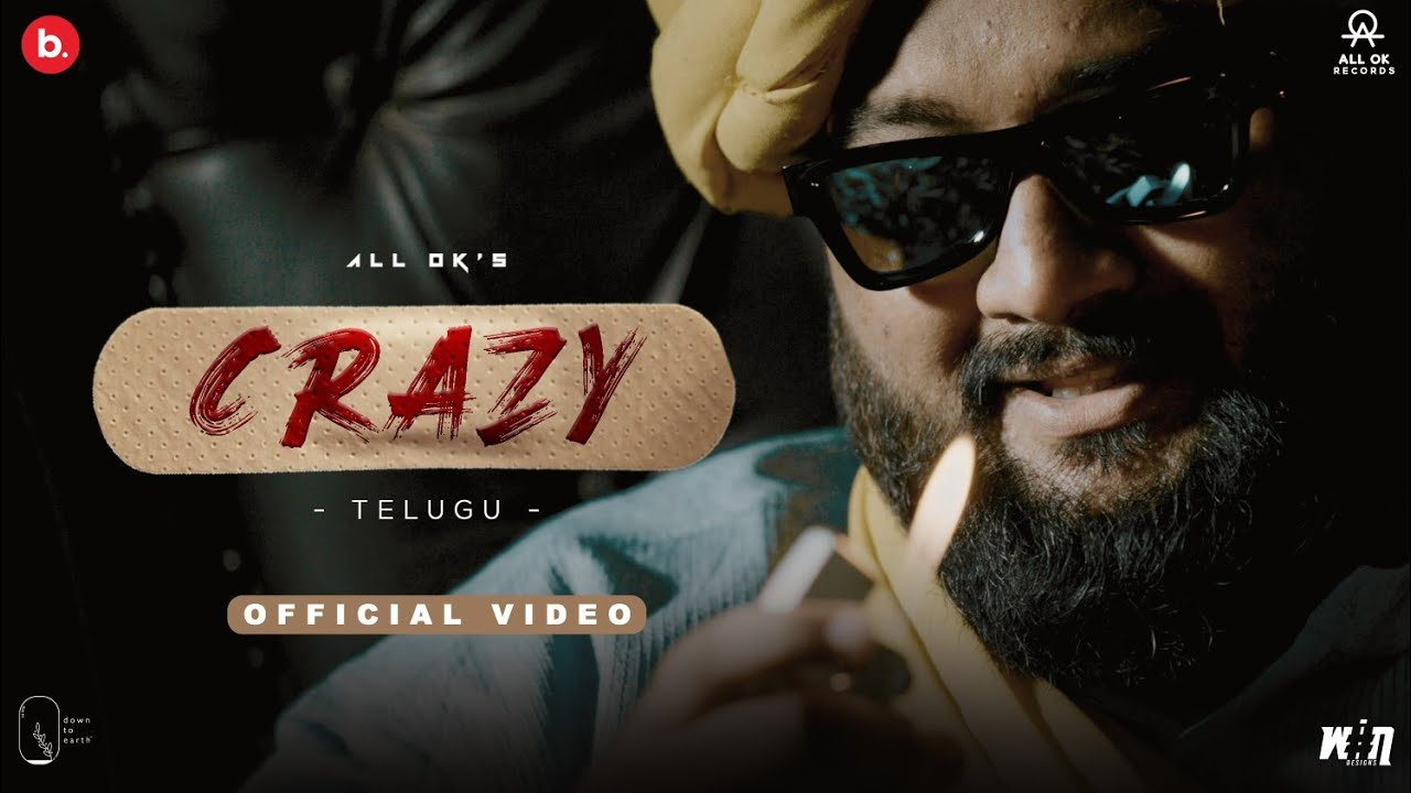 ALL OK | CRAZY | Telugu Full Video Song (4K) | New Party Song