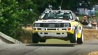 Race Cars and Bikes JUMP in the air!