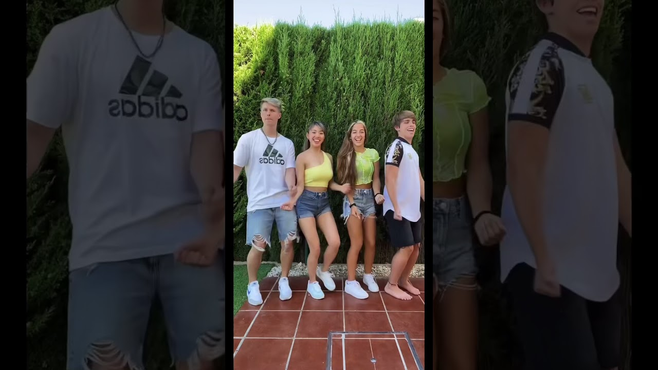 Otro Baile TREND de TikTok con Ariann Music y Cesar🥵 Mañana Nuevo VLOG en el canal😱 #Shorts