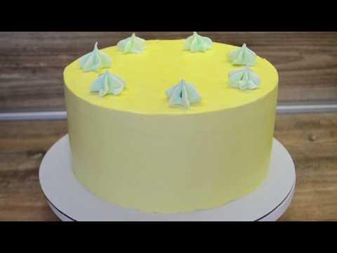 Торт МОЛОЧНАЯ ДЕВОЧКА с йогуртовым кремом/ Как выровнять торт