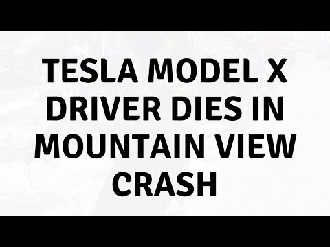 Daily Tech News - Tesla Model X driver dies in Mountain View crash