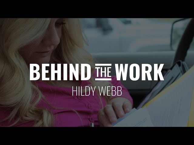 Work Like Your Hair is On Fire   Behind the Work   Hildy Webb