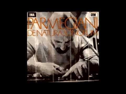 Bernard Parmegiani - De natura sonorum : Pleins et déliés
