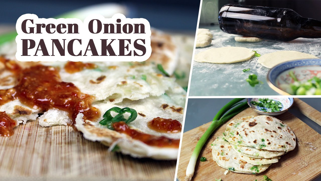 Green Onion Pancakes | Vegan Recipe by Mary's Test Kitchen