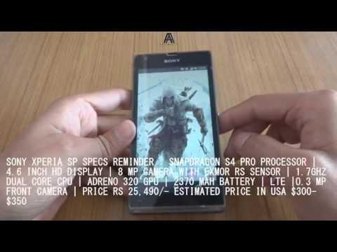 Sony Xperia SP : The Midrange SuperPhone