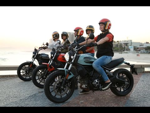2016 new ducati scrambler 400 sixty2 official promo video. Black Bedroom Furniture Sets. Home Design Ideas
