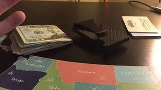 Minimalist carbon fiber  money clip review