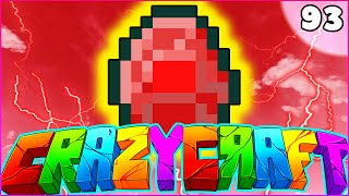 "Minecraft CRAZY CRAFT 3.0 SMP - ""ULTRA RARE RED DIAMOND (SuperHero Mod)"" - Episode 93"