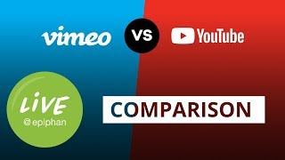 YouTube vs Vimeo Live Comparison