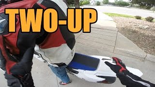 Riding With a First-Time Pillion