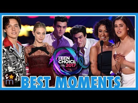 10 Best Moments from the 2017 Teen Choice Awards: Fifth Harmony, Riverdale, Dolan Twins, Liza Koshy