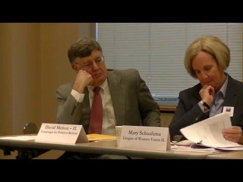 LWVGR Informational Forum on the Proposed Illinois Anti-Corruption Act