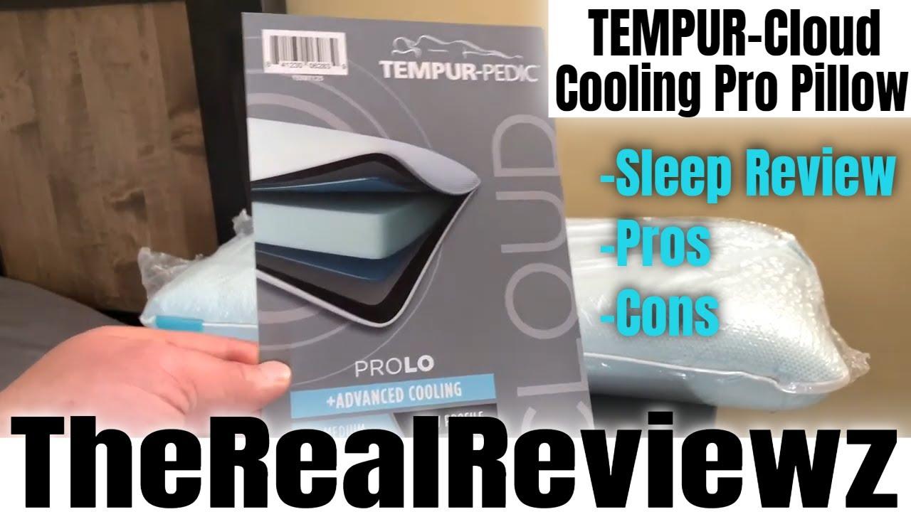 tempurpedic cooling pro pillow sleep review