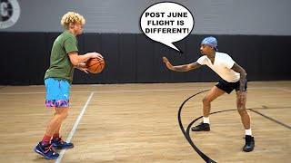1v1 Basketball VS FlightReacts!