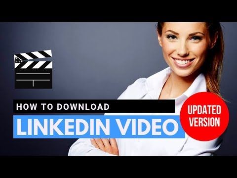 How To Download LinkedIn Video In 2019 (NEW) #AskNat