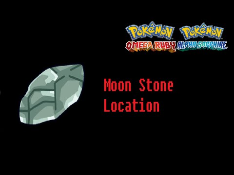 How To Find Moon Stone Pokemon Omega Ruby Alpha Sapphire Location