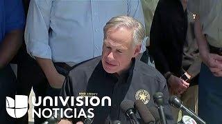 Rueda de prensa con el último reporte sobre el tiroteo en Texas