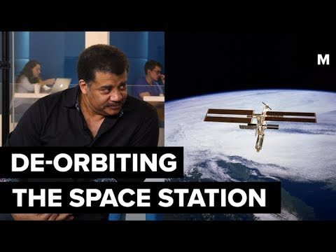 De-orbiting the Space Station