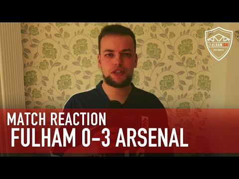 Fulham beaten on Premier League opening game. | Fulham 0-3 Arsenal | MATCH REACTION