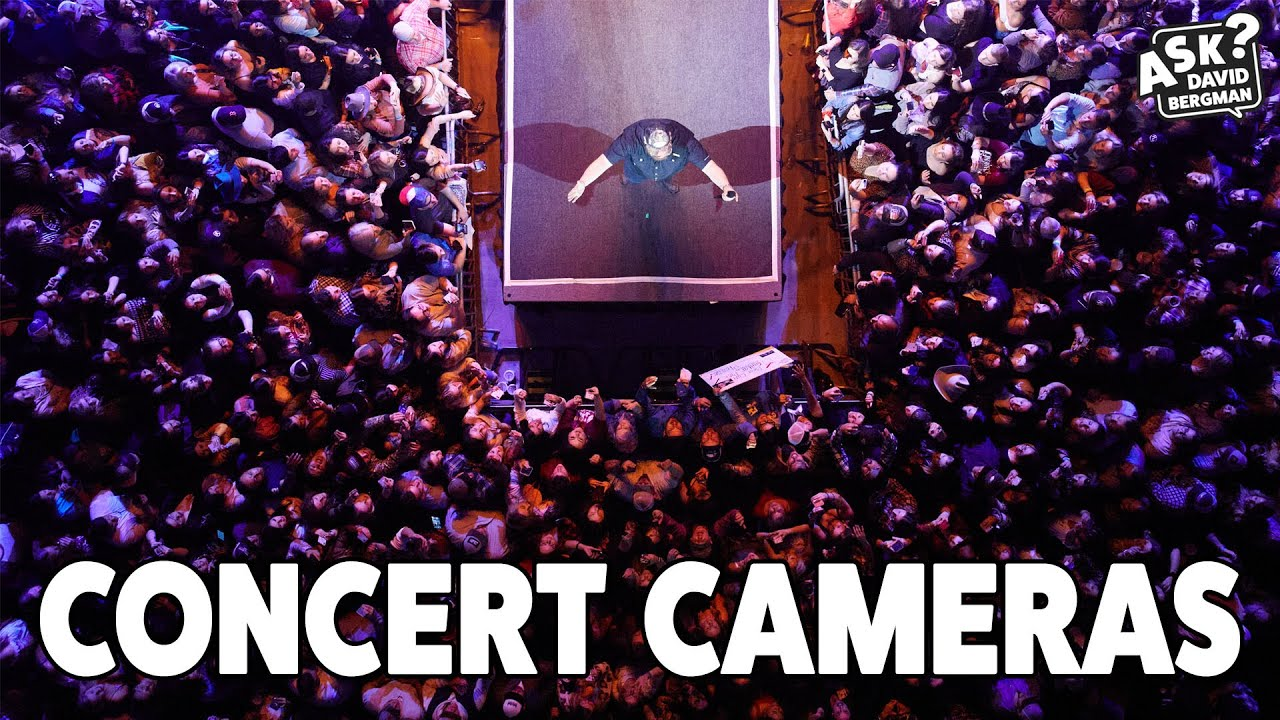 What's In My Camera Bag for Concert Tour Photography?   Ask David Bergman