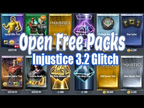 Injustice 3.2: (GLITCH) Get All Your Favorite Characters With This Glitch /iOS/Android 2020