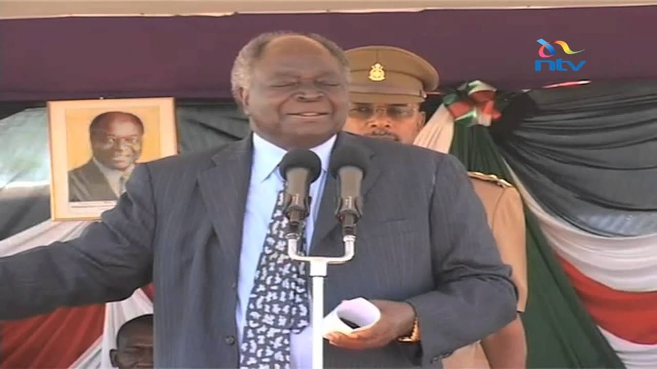 NEW Kibaki's EXPLICIT video talking about Muliro Gardens saga    NTV had to  censor