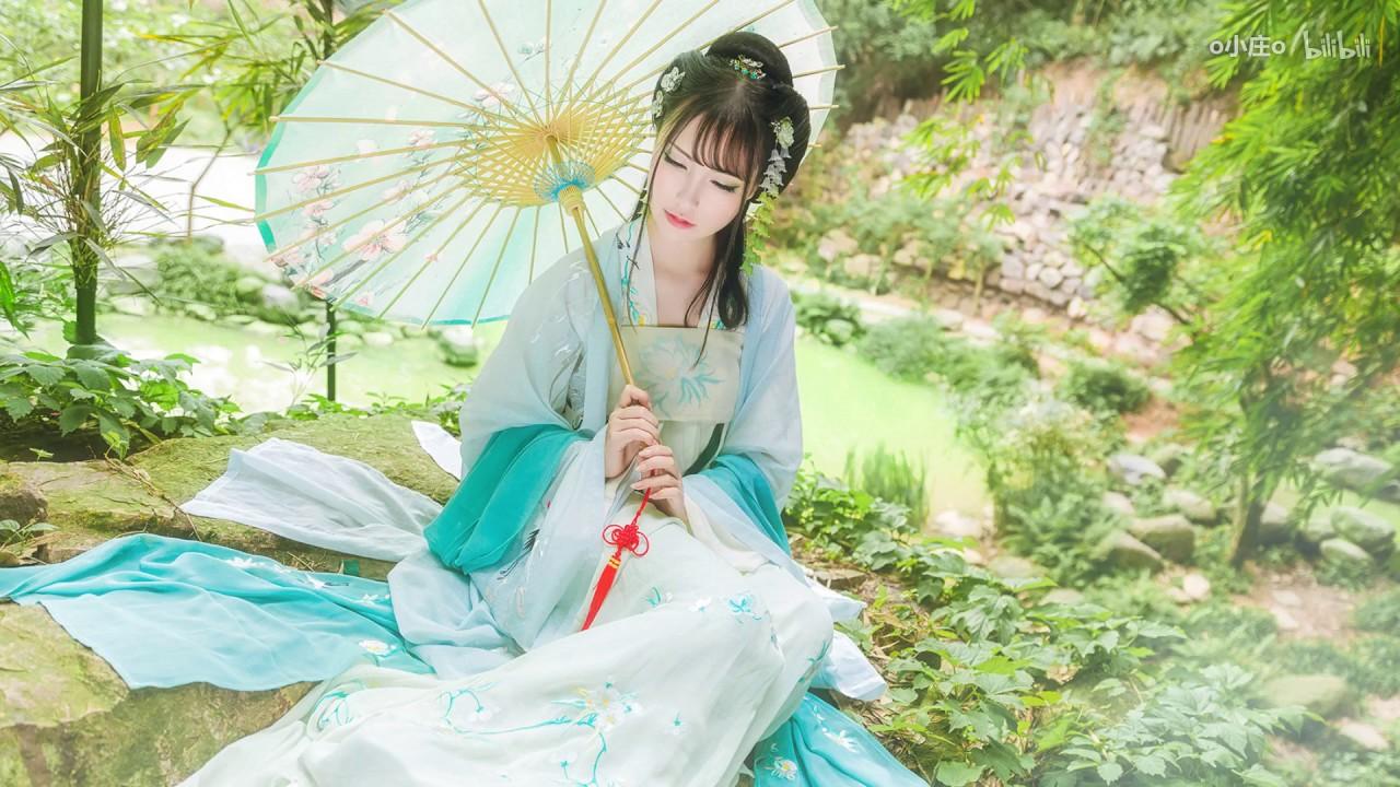 Hướng Dẫn Makeup Cổ Trang ❀ 24 Tiết Khí ❀ Cốc Vũ   【晴晴】❀二十四节气❀谷雨❀
