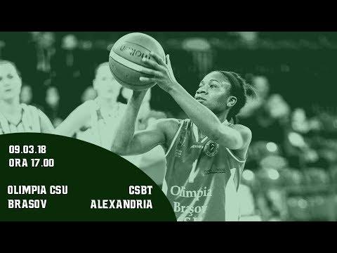 LNBF 2017-2018: Olimpia CSU Brasov - CSBT Alexandria