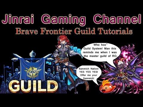 Brave Frontier Global Exclusive Guild tutorials