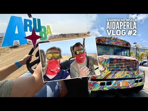 AIDA Vlog #2: Karibische Inseln mit AIDAperla - Wildes Aruba