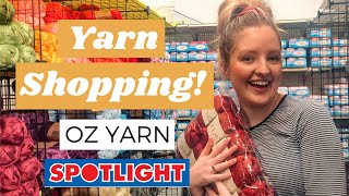 YARN SHOPPING! Oz Yarn and Spotlight Haul