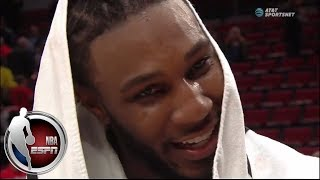Jae Crowder on Jazz debut: Playing with new team is very fun | NBA on ESPN