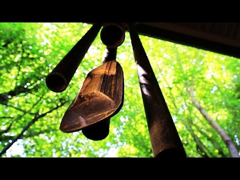 Asian Wind Chime - Royalty Free HD Stock Video Footage.
