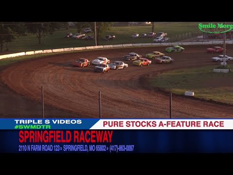 Pure Stock A Feature Race 6 24 2017 Springfield Raceway