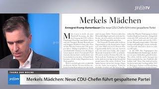 Ein Blick in die neue JF (51/18): Merkels Mädchen