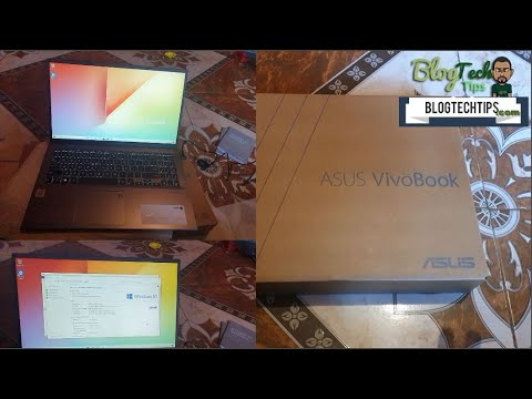 ASUS F512JA AS34 VivoBook 15 Thin And Light Laptop (Review and Unboxing)